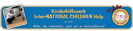 ICH – Inter-NATIONAL CHILDREN Help e.V.